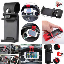Mobile Phone Holder Car Steering Wheel Mount Holder Hands free GPS