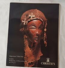 christies catalogue important tribal art NOV94 +