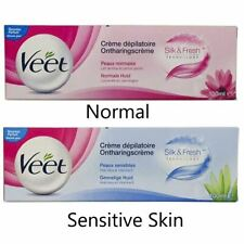 Veet Hair Removal Cream For Normal & Sensitive Skin Aloe Vera & Vitamin E 100ml