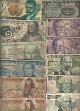 New ListingMexico 🎇 12 pcs banknote 🎇 Collections & Lots Ref#U92-98