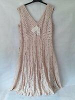 Size 22 Jacques Vert LACE Sleeveless Dress New RRP £199