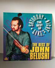 The Best of John Belushi The Best Of Saturday Night Live SNL Laserdisc LD 1993