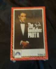 The Godfather Part II Video 8 - New Sealed