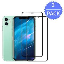 2x 9D iPhone 11 Pro Max XR XS Max PANZERFOLIE FULL COVER Schutz Display HARTGLAS