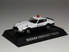 MODEL CARS NISSAN FAIRLADY Z 240ZG POLICE PATROL CAR 1/64 TAKARA TOMY JAPAN