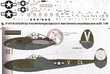 Peddinghaus 1/48 P-38J Lightning Markings Thomas White 55.FG / 338.FS 1944 1475