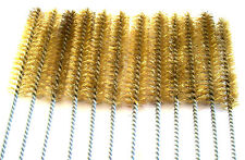 """6 GOLIATH INDUSTRIAL 16"""" BRASS WIRE TUBE CLEANING BRUSH 3/4"""" TB34B BRUSHES GUN"""