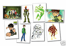 Ben 10 volume 1 Collection - set of 8 Postcards
