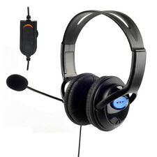 Stereo Wird Gaming Headset Earphone Headphone with Mic For Ps4 PlayStation 4