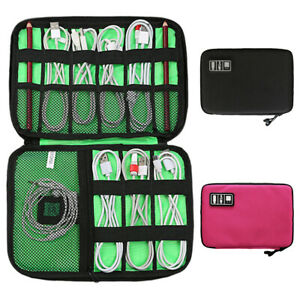 Charger Organizer Storage Bag Cable Organiser Earphone Bag Gadget Case Pouch