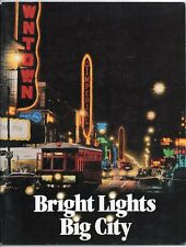 BRIGHT LIGHTS BIG CITY HISTORY OF ELECTRICITY IN TORONTO 1991 Exhibition BOOK