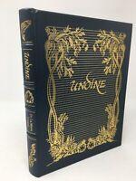 RARE Fairy Tale UNDINE by Fouque, Illus By ARTHUR RACKHAM Easton Press Leather