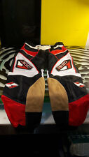 FXR Motorcycle Pants Motocross Padded Mens Size 30 Decent shape Red