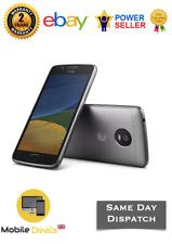 New Motorola Moto G5 16GB Lunar Grey 4G LTE 13MP Android Smartphone Unlocked