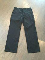Billabong NEW! Men's Black Flat Front Slim Leg Chino Pants Sz 36 NWT!