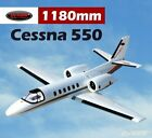 RC Airplane PNP Dynam Cessna 550 V2 1180mm Fixed Wing Jet Turbo Twin Motor 64mm