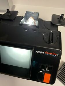 AGFA Family super 8 film viewer/Projector boxed NO CAMERA JUST PROJECTOR