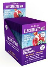 Dr. Price's -  Electrolyte Mix Blueberry Pomegranate Flavor 30 Packets