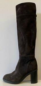 Kurt Geiger London Tring Block Heel Over The Knee Boots UK 4 EUR 37 REF D206