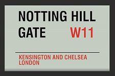 Notting Hill Gate W11 London Nostalgie Barspiegel Spiegel Bar Mirror 22 x 32 cm