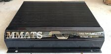 Rebuilt Old School MMATS LM4065 4 Channel Amplifier,Rare,SQ,USA MADE