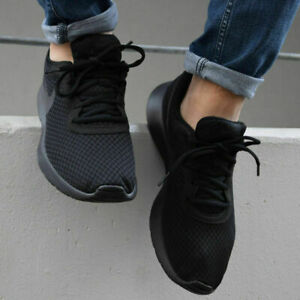 Nike Tanjun Schuhe Turnschuhe Sneaker Herren 812654 Schwarz Damenschuhe