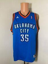 Adidas Oklahoma City Thunder youth #35 Kevin Durant basketball jersey XL men's S