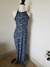 derek heart maxi dress size medium blue super soft fabric. NEW!