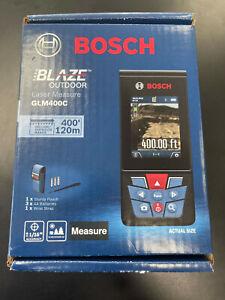 NEW Bosch Blaze Outdoor 400ft Laser Measure W/ Bluetooth & Viewfinder GLM400C