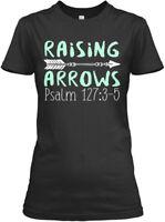 Easy-care Christian - Raising Arrows Psalm 127:3-5 Gildan Women's Tee T-Shirt