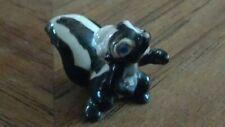 Vintage Hagen Renaker Disney Bambi flower skunk stinky ceramic miniature animal