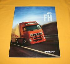 Volvo FH 2002 LKW Prospekt Truck Brochure Camion Depliant Catalog Prospetto