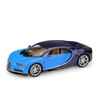 Welly 1:24 Scale Bugatti Chiron Diecast Model Car Vehicle Collection New In Box
