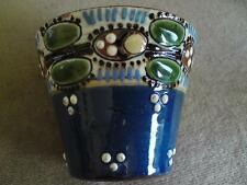 Rare P. A. Wranitzky pottery pot Austrian Arts & Crafts design pattern