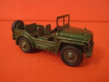 VINTAGE DINKY TOYS 674 MILITARY AUSTIN CHAMP plastic wheels and drive wheel