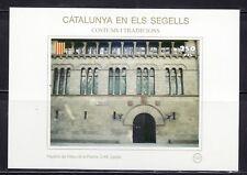 CATALUÑA EN SELLOS HB Nº 133 COSTUMBRES/TRADICIONES/PALACIO PAERIA LERIDA