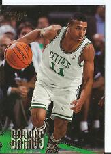 CARTE DE COLLECTION NBA BASKET BALL FLEER 96-97 1996 DANA BARROS N°184