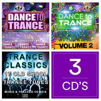 Trance Classics NEW 3xCDs DJ MIXES 2018 DANCE CLUB TRANCE TUNES OLD SKOOL MUSIC