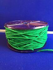 Polyester 4mm Rope Braided Braid on Braid Cord Emerald Yachting Sailing Flagpole