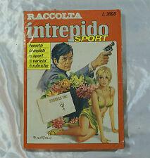 Fumetto raccolta INTREPIDO sport varietà rubriche nr 12 dicembre 1987