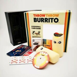 Throw Burrito Action A dodgeball Card Party Game *MELBOURNE STOCK*