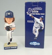 2006 Milwaukee Brewers Derrick Turnbow Only One with Hair Bobblehead In Box