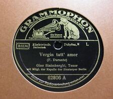 Gino Sinimberghi - Vergin tutt' amor (Durante)/ Ideale (Tosti) GRAMMOPHON (1318)