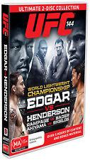 UFC: 144 Edgar vs Henderson (2 Discs) - DVD New