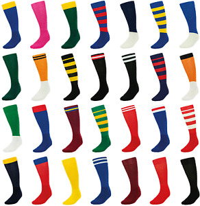 Footy Socks Richmond Red Navy Royal Blue Black Football Socks +FREE Sports Socks