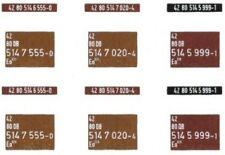 Güterwagen-Ausbesserungsflicken Eo 019/020,  verschiedene Farbtöne, 087-8630