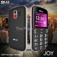 BLU Joy J010 Unlocked GSM Senior Friendly Phone w/ 2.4'' Display VGA Camera