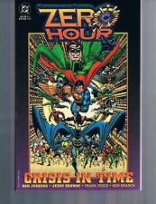 Zero Hour: Crisis in Time by Dan Jurgens & Jerry Ordway 1994 TPB 1st Print DC