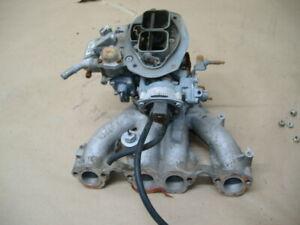 VW rabbit dodge omni intake manifold and carburetor
