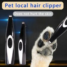 Electrical Cat Dog Foot Hair Trimmer Pet Hair Clipper Shaver Animal Haircut